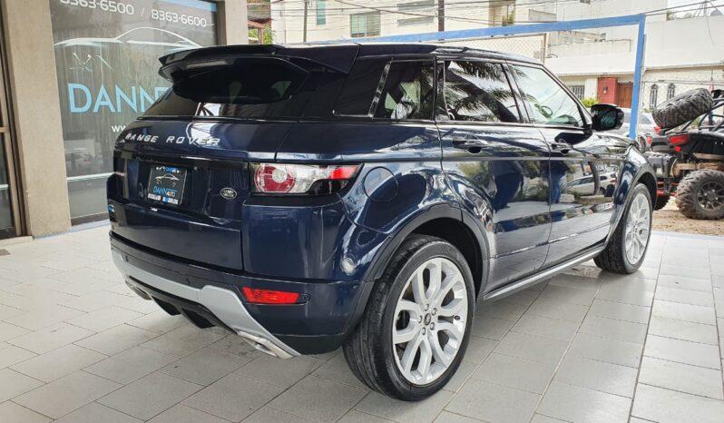 Land Rover Range Rover Evoque Dynamique 2013 full